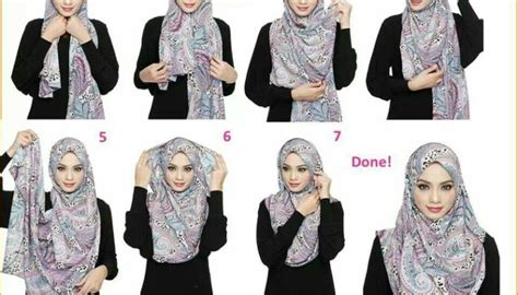 tutorial hijab simple pashmina sifon tutorial hijab pashmina sifon simple dan mudah mudation com