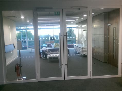 glass partition door 30 00 steel framed glass partitioning