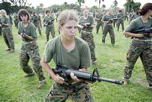u s marines change the women s uniform to allow enlisted