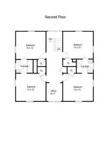 Square House Floor Plans by 1915 Architectural Design For The American Foursquare