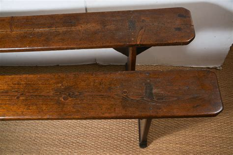 vintage benches antique french wood bench at 1stdibs