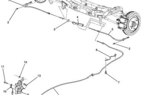 2005 chevy impala parts diagram gm auto park brake diagram wedocable