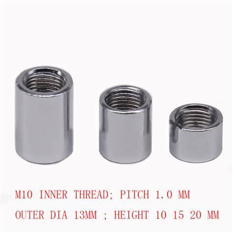 Lights Fasteners Aliexpress Com Buy M10 Steel Hollow Nut Female Thread