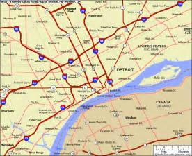 map of canada and michigan detroit subway map map travel vacations