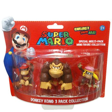 Figure Mario Family Dixie mario kong figure collection merchandise zavvi espa 241 a