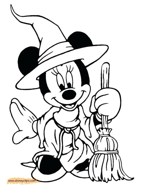 mickey mouse coloring pages for halloween minnie mouse halloween coloring pages mickey halloween