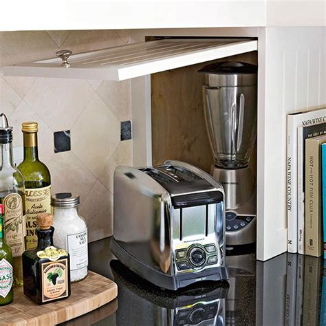 kitchen appliance storage small appliance storage