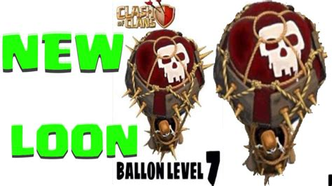 Balon Max Coc clash of clans new level 7 balloons lvl 7 loons idea