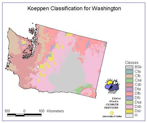 california climate map koppen bellingham washington weather and climate