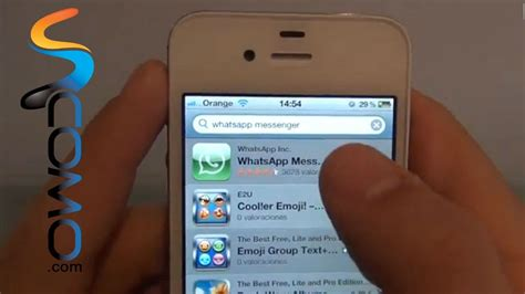 tutorial de whatsapp para iphone c 243 mo instalar whatsapp en el iphone youtube