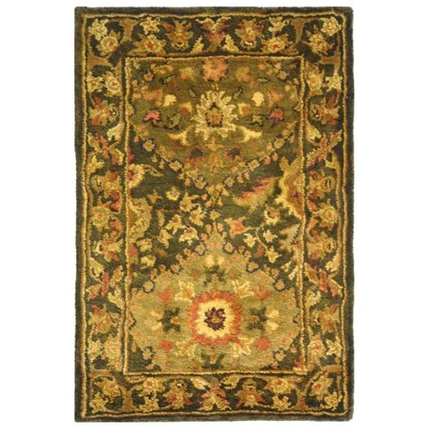 3 X 4 Area Rug Safavieh Antiquity Olive 2 Ft 3 In X 4 Ft Area Rug