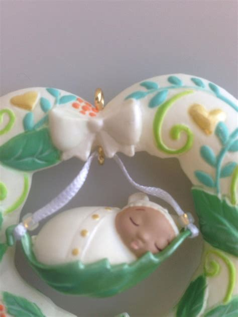 hallmark baby ornaments 2016 baby s hallmark keepsake ornament