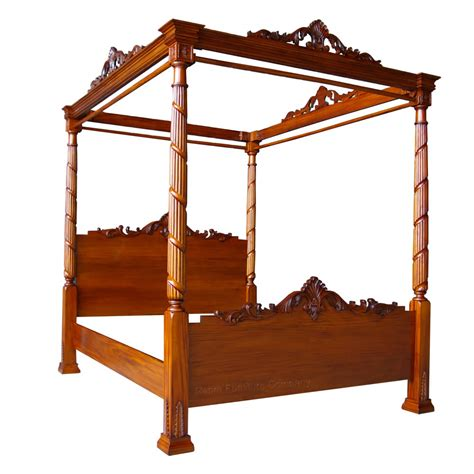 lincoln poster lincoln four poster mahogany bed mahogany bedroom 163 895 00