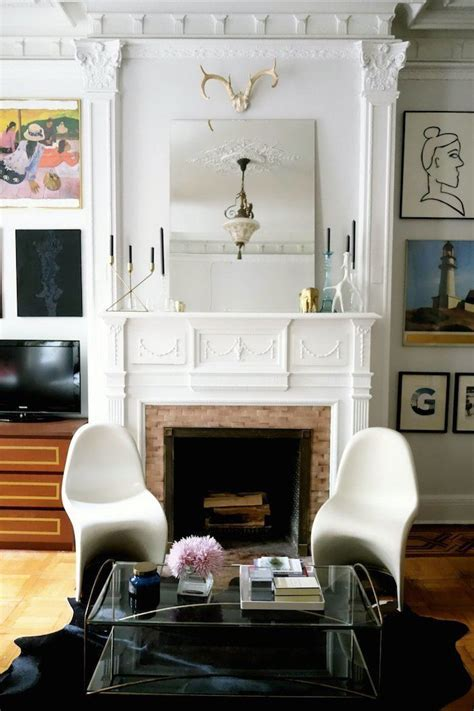 Apartment Therapy Mantle The Most Beautiful Fireplace Mantels White Mantels