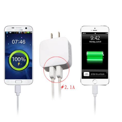 Best Seller Agiler Travel Charger Adapter 2 Usb Ports 2 5a Fast dual 2 usb travel wall home charger adapter 2 1a fast