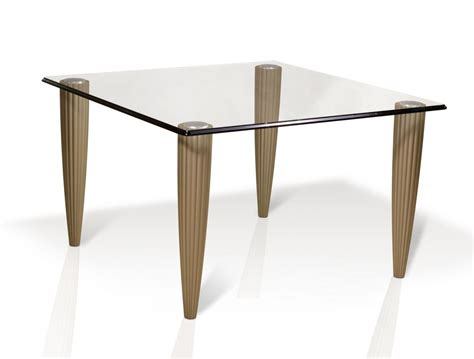 Hand Made Rice Glass Top Dining Table By Lee Weitzman Custom Glass Dining Table