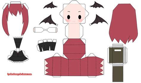 Touhou Papercraft - touhou koakuma papercraft by tsunyandere on deviantart