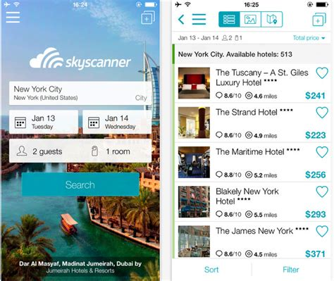 skyscanner mobile website flight searcher skyscanner launches hotel only app skift