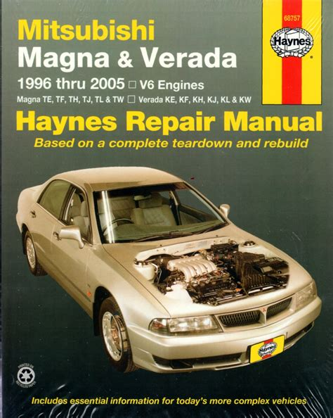 car engine manuals 1996 mitsubishi eclipse user handbook mitsubishi magna verada 1996 2005 haynes service repair manual workshop car manuals repair