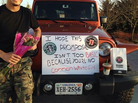 7 Worst Ways To Propose To A by 1000 Ideas About Prom Proposals On Prom