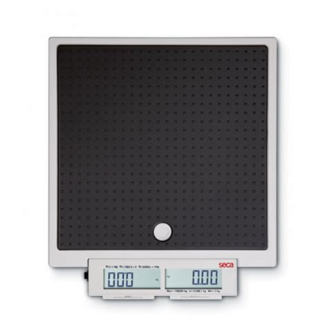 scale mobile seca flat scale for mobile use with push buttons and