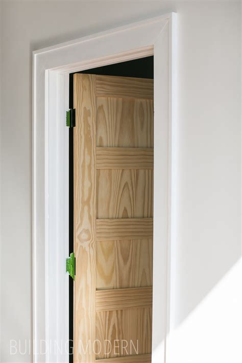 modern interior trim a new door and trim doors pinterest doors door