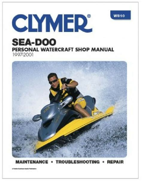 1997 98 1999 2000 2001 Sea Doo Repair Manual Xp Gs Gsi Gsx