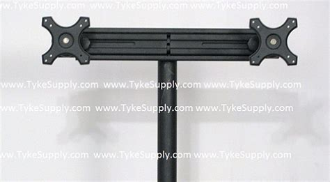 tyke supply dual arm monitor stand