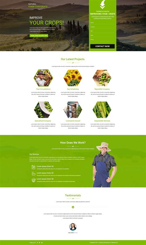 free html templates for landing pages farm html website templates landing page template with