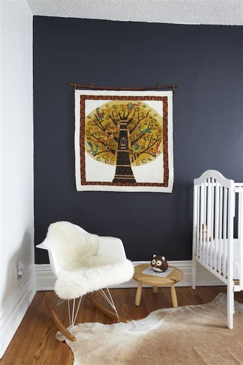 navy blue paint colors vintage nursery behr