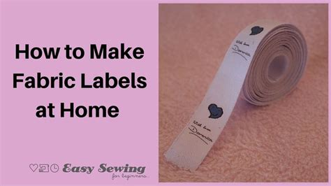 How To Make Heat Transfer Paper At Home - 17 best ideas about fabric labels on