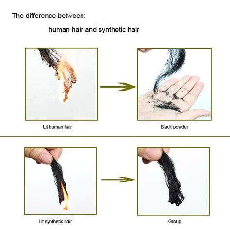 synthetic hair vs real human real human hair extensions emeda hair