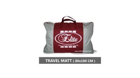 Ranjang Elite travel matt springbed elite diskon promo
