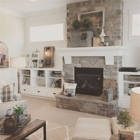 best 25 farmhouse fireplace mantels ideas on