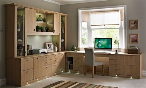 decoration home office design furniture lighting home office modern home office decor idea with full wood cupboards also led lights best modern