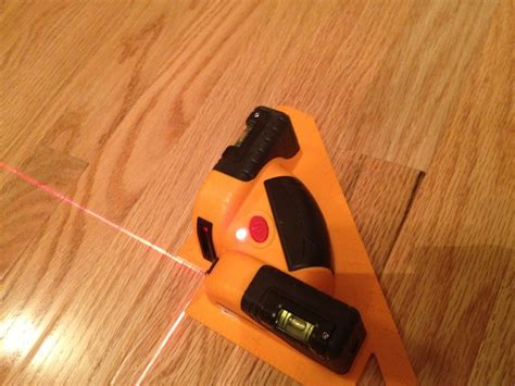 johnson level 40 6616 tile and flooring laser hardwood flooring project tools in action