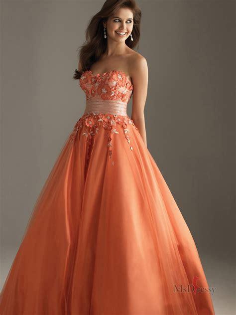Dresss Orange orange yellow prom dresses dress uk
