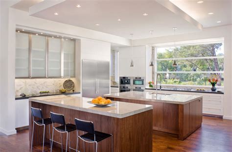 Cool Kitchen Island Bright And Beautiful Blanco House Promises Luxury With Contemporary Glee