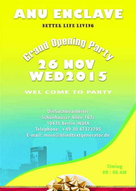templates for grand opening flyers 20 grand opening flyer templates free demplates