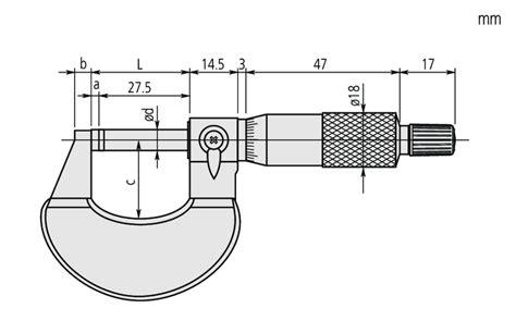 Od Micrometer 25 50 0 01mm 102 302 mitutoyo produkt mikrometr