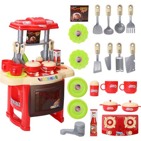 play toys kitchen cooking set for play lazada malaysia