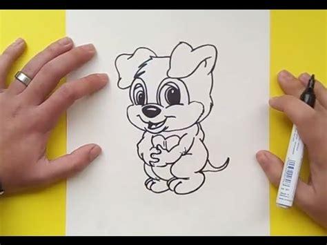 como un perro como dibujar un perro paso a paso 34 how to draw a dog
