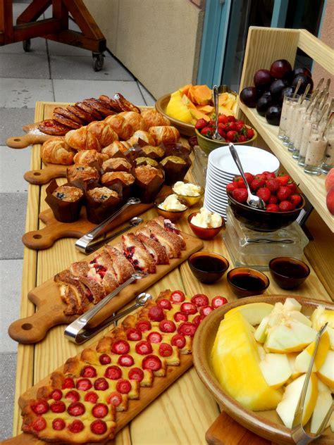 brunch table breakfast buffet table on pinterest