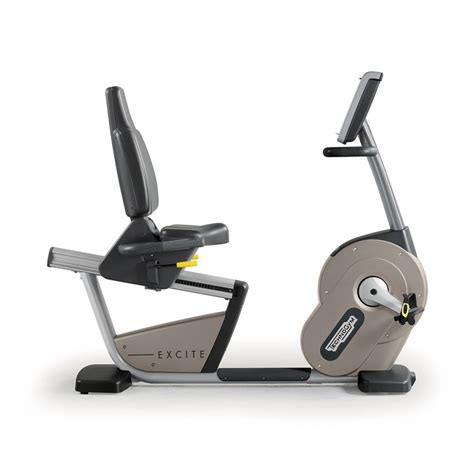 Recline Exercise Bike by Technogym Excite Recline Unity Exercise Bike
