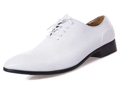 mens white shoes get cheap mens formal white shoes