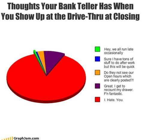 bank puns image gallery teller jokes