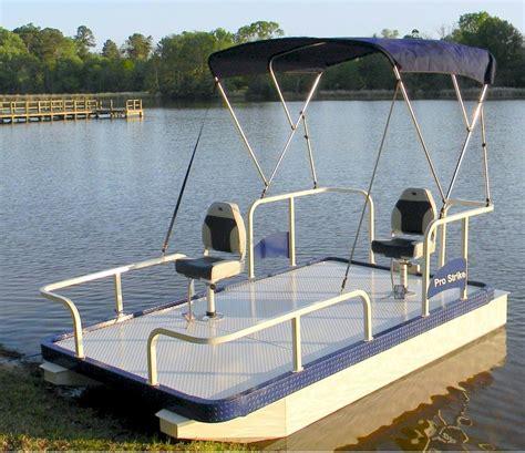small boat pontoons pro strike 126 exr mini pontoon boat youtube