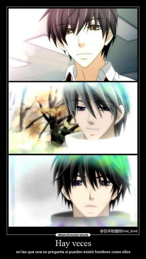 imagenes memes romanticas carteles anime amor yaoi junjou romantica muwigaraklan