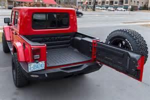 Jeep Truck Bed Rubitrux Jeep Wrangler Jk Ext Truck Conversion