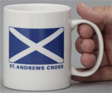 Eagle Cross Coffee scotland cross coffee mug